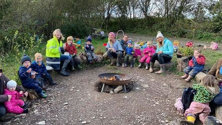 Toddler group with Tash Greenwood (centre)