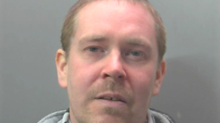 Stuart Minns, of Staithe Road, Wisbech, was sentenced to a year in prison