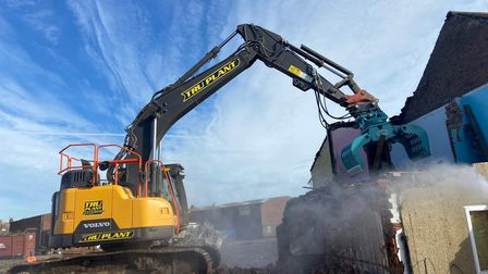 Demolition to make way for Great Yarmouth's third river crossing