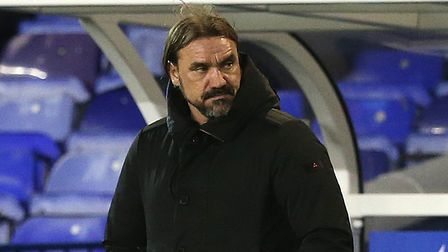 Norwich Head Coach Daniel Farke during the Sky Bet Championship match at St Andrews, Birmingham Pic