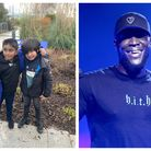 Mikaeel Ishaaq and Ayaan Moosa, aka the Lemonade for Yemen-aid boys got a surprise message from Stormzy and their favourite footballers when they received a special Gold Blue Peter badge.