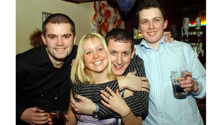 Customers at Brannigans in Ipswich in 2003