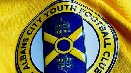 St Albans City Youth Football Club new badge