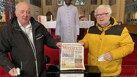 Time capsule for St Mary's RC Church Great Yarmouth