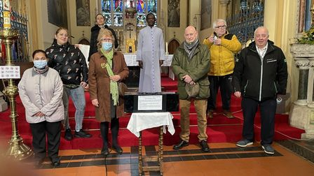St Mary's RC Church time capsule Great Yarmouth