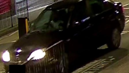 Black Ford Mondeo used in Wembley murder