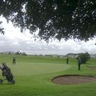 Action from Brean Golf Club