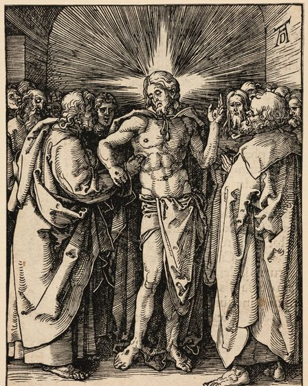 Albrecht Durer Doubting Thomas from the Small Passion, c.1510