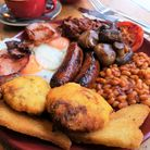 You can now get a full English from Olives delivered to your door.