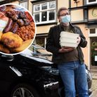 Olives in Elm Hill is now running its own cooked breakfast delivery service in Norwich, pictured is owner Mick Marsden.