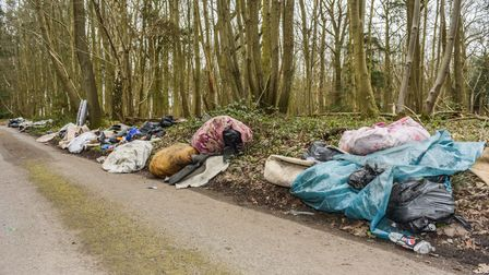 Fly-tipping at Holbrook