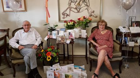 Hermi and Shirley Rothmanmarking their special day