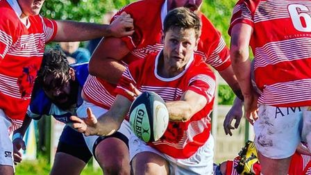Wisbech man playing rugby