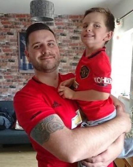 Wisbech businessman in Man Utd shirt