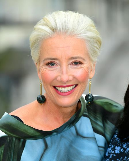 Emma Thompson during the Late Night photocall held at the Corinthia Hotel, London.