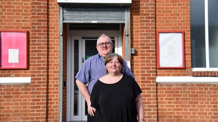 Paul Daley Chairman with his wife Mary Daley. The Salvation Army in Ipswich have launched a Good Nei