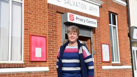 Julie Daniels. The Salvation Army in Ipswich have launched a Good Neighbourhood scheme Picture: CHA