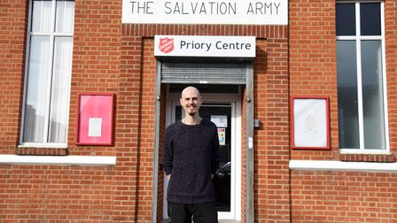Hayden Bishop. The Salvation Army in Ipswich have launched a Good Neighbourhood scheme Picture: CHA