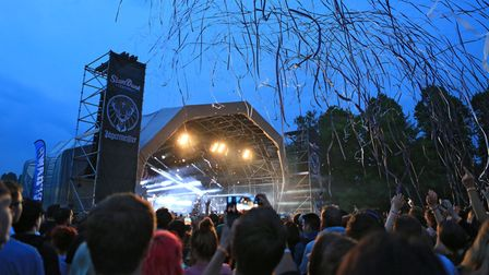 The main stage at Slam Dunk Festival SouthinHatfield Park. The festival is due to return on Sunday, September 5, 2021.