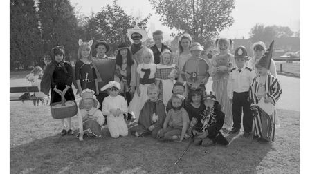 Book week at Halifax School in Ipswich in 1990