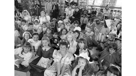 Book Week at  St Pancras School in Ipswich in June 1990