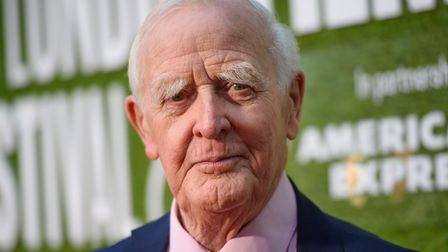 Author John le Carré