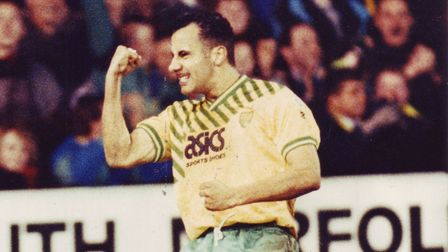 Dale 'Disco' Gordon was always a firm fans' favourite at Carrow Road. Picture: Archant