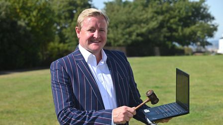 Exmouth auctioneer Scott Gray, who appears regularly on BBC's Homes Under the Hammer