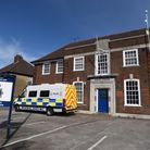 The former Felixstowe Police Station in High Road West