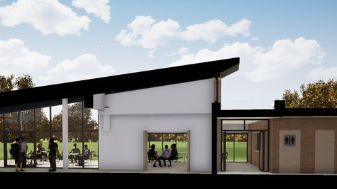 A vision of the new Sopwell Community Hub.