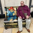 Jonathan Berry, a long-term employee of Konectbus who worked at Norwich bus station, died with Covid-19 last month. He is pictured sitting at Paddington Station