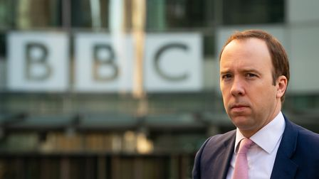Health Secretary Matt Hancock arrives at BBC Broadcasting House in London to appear on the Andrew Ma