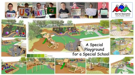 The Warren Association and Timotay Playscapes have teamed up as they look to raise funds to create'A Special Playground...
