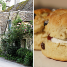 Scones and Cotswold village