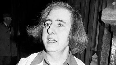 Labour Memeber of Parliament Maureen Colquhoun, who at the time of this picture was fighting a move