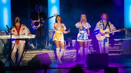 Björn Again: The ABBA Show will perform ABBA's biggest hits at The Alfresco Theatre Drive-in at the Hertfordshire...