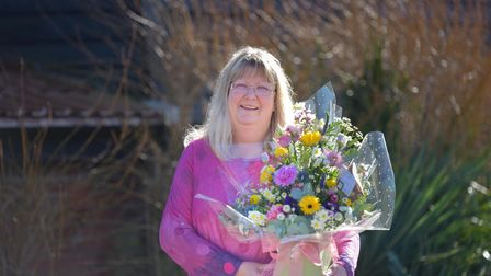 Wendy Lavington is retiring from the Sproughton Community Shop after 11 years. Picture: SARAH LUCY