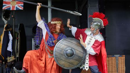 Horrible Histories'Barmy Britain is coming to Knebworth Park on Saturday, April 24.