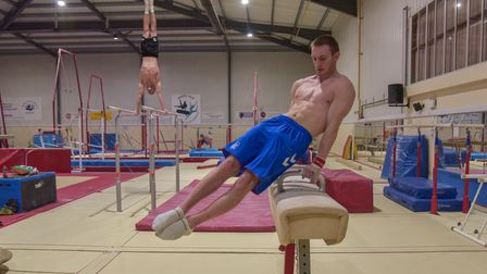 Gymnasts at Pipers Vale Gymnastics Club in Ipswich. Cameron Lister