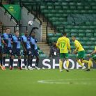 Mario Vrancic sealed Norwich City's hard fought 2-1 Championship win over Wycombe at Carrow Road