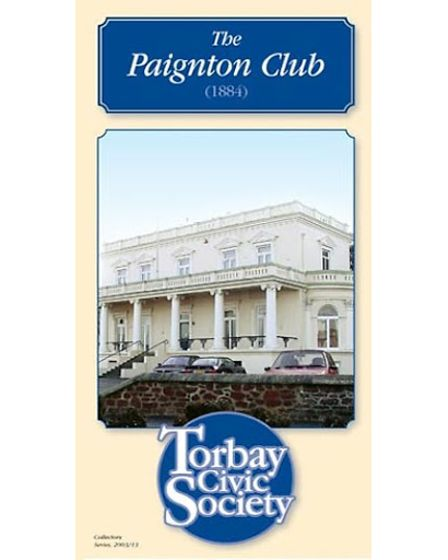 Torbay Civic Society's leaflet about Paignton Club