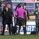 Daniel Farke gets his point across in Norwich City's 2-0 Championship win at Wycombe