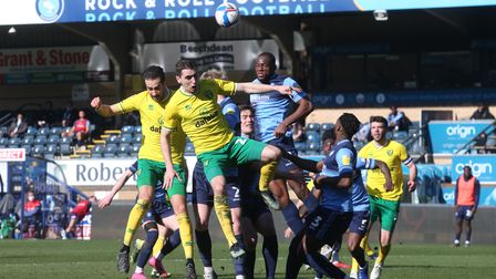Kenny McLean was impressive in Norwich City's 2-0 Championship win at Wycombe