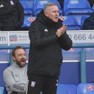 Paul Lambert during the Blues 0-0 draw with Oxford United Picture: Ross Halls