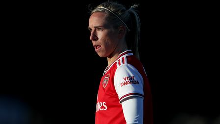Arsenal's Jordan Nobbs during the Women's Super League match at Meadow Park, Borehamwood.