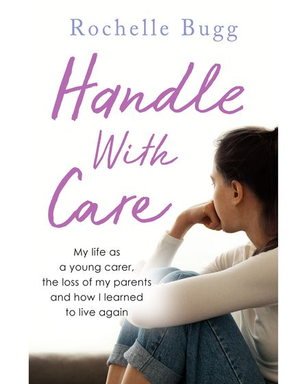 The front cover ofHandle with Care by Rochelle Bugg.