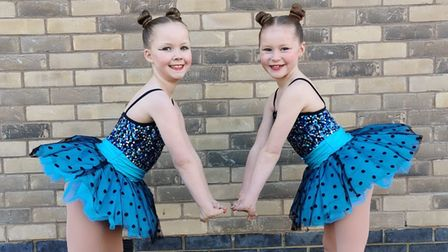 Chloe and Isla will represent England at the Dance World Cup
