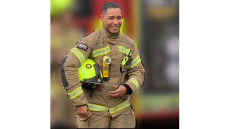 Undated family handout photo of London firefighter Jaden Francois-Esprit who took his own life, whos