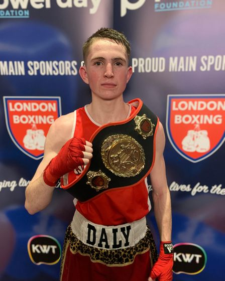Islington Boxing Club fighter Connor Daly