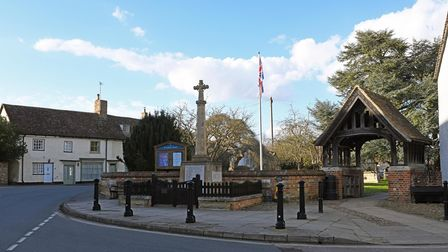 The centre of Kimbolton retains its charm.